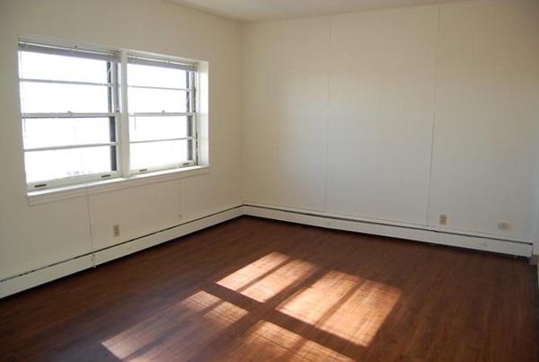 Empty Bedroom with Nice Hardwood Floor